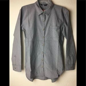 THE NORTH FACE Gray Stevie Button Down Shirt